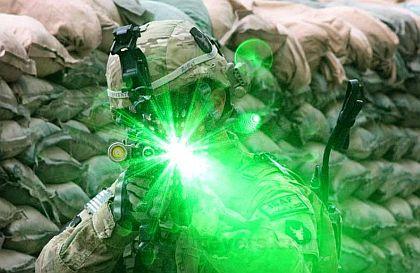 Green Laser gun