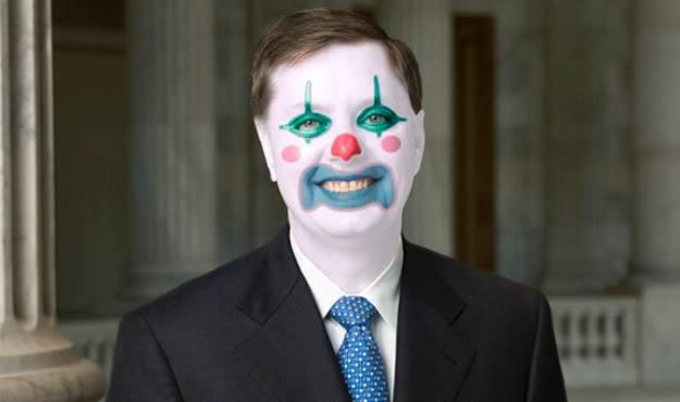 lindsey-graham-clown