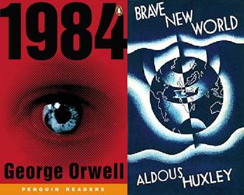 essay 1984 and brave new world There are lots of ways to compare 1984 by george orwell to brave new world by aldous huxley they both have to do with very futuristic ideas i noticed that they both.