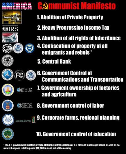 Image result for communist manifesto tax