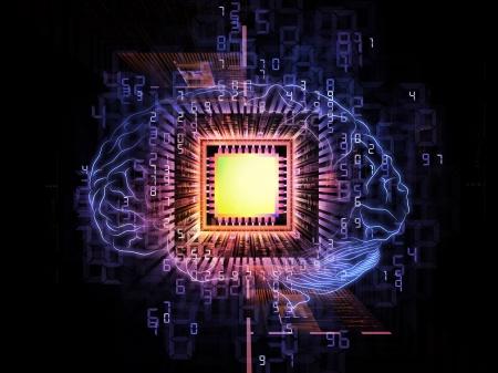 Computer-chip-brain